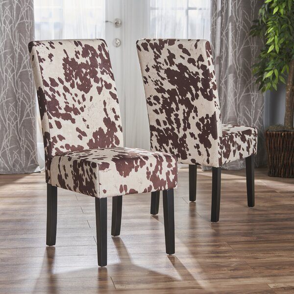 Homan Upholstered Dining Chair (Set of 2) by Union Rustic