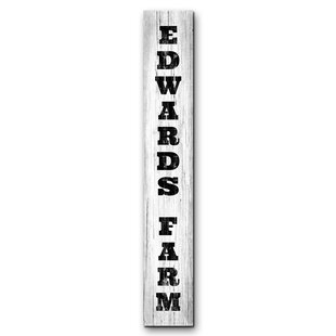 Personalized Name Signs Wayfair