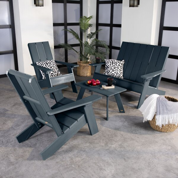 4 Piece Barcelona Seating Group Set by Highwood USA