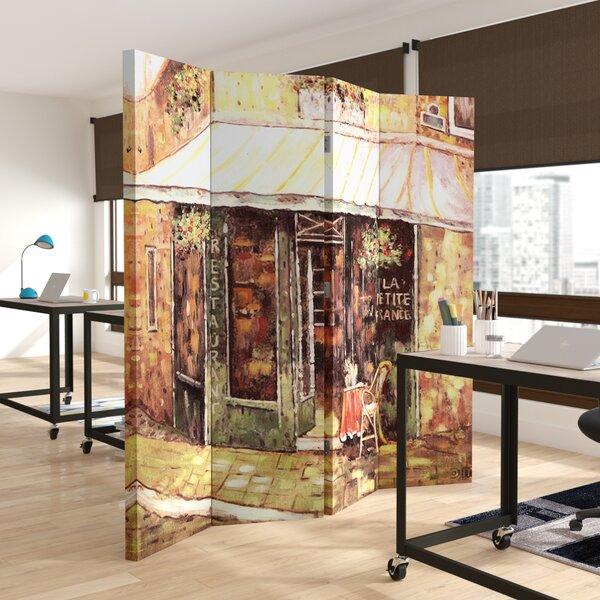 Verona 4 Panel Room Divider by Andover Mills