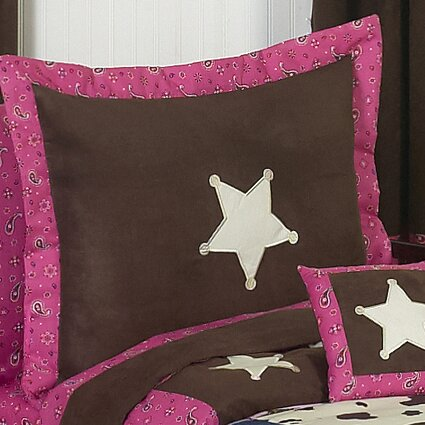 Cowgirl Sham by Sweet Jojo Designs