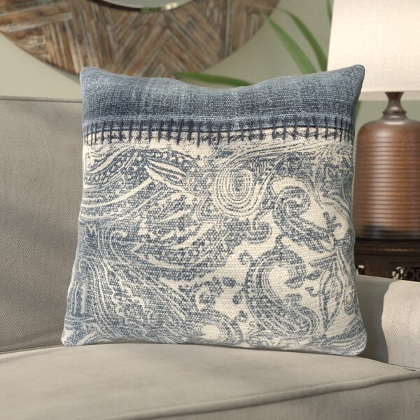 Cobbtown Down Cotton Throw Pillow by Bungalow Rose