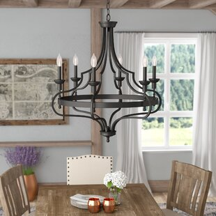 Best Choices Jaycee 6-Light Chandelier By Laurel Foundry Modern Farmhouse