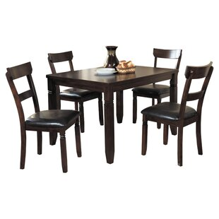 Best Reviews Melva 5 Piece Dining Set by Darby Home Co
