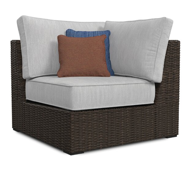 Barnfield Patio Chair with Cushions by Bloomsbury Market