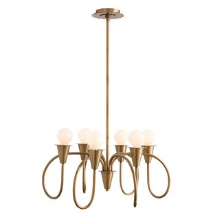 Garfield 6-Light Shaded Chandelier By ARTERIORS Home