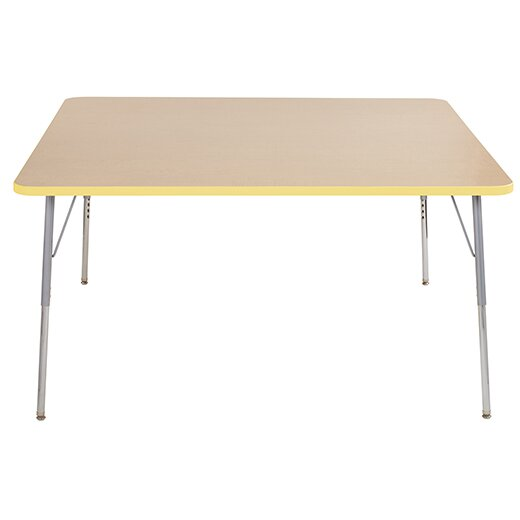 Thermo-Fused Adjustable 60 Square Activity Table by ECR4kids
