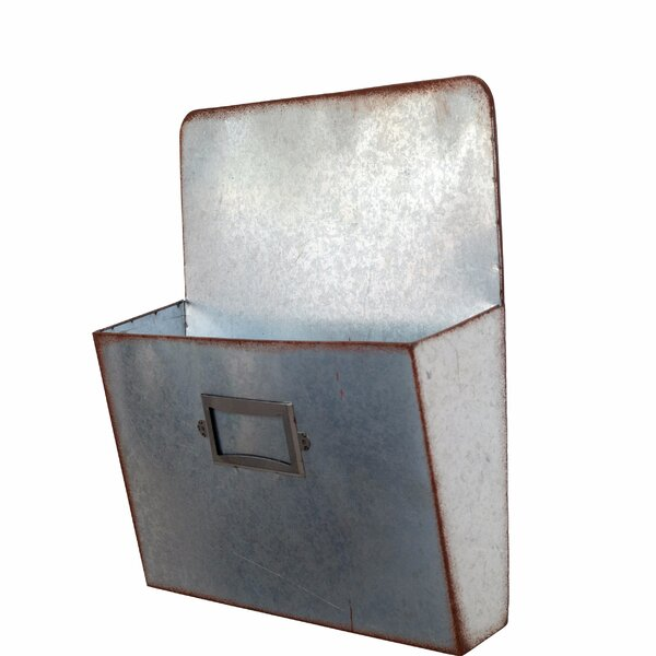 Dollison Single Pocket File or Magazine Rack by Gracie Oaks