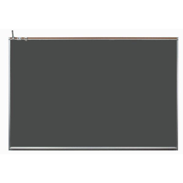 Wall Mounted Magnetic Chalkboard by AARCO