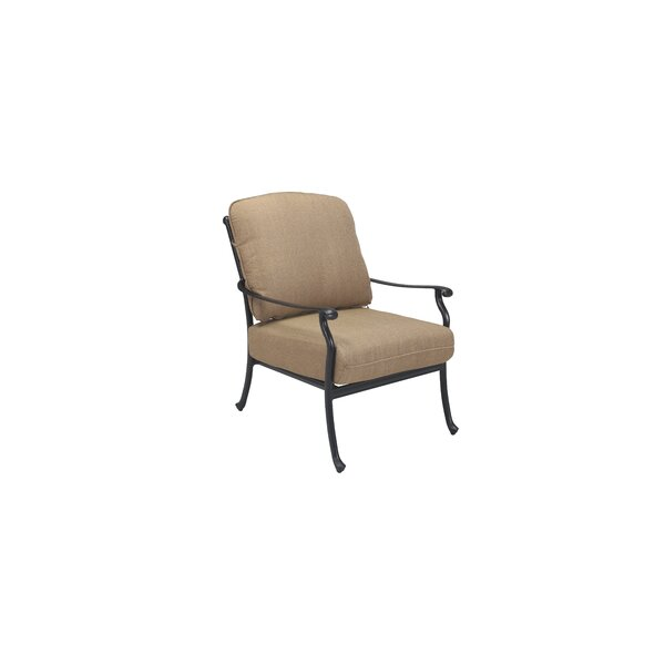 Carder Patio Chair with Cushions by Darby Home Co