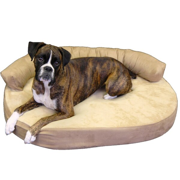 Cassie Orthopedic Memory Foam Joint Relief Bolster Dog Bed by Tucker Murphy Pet