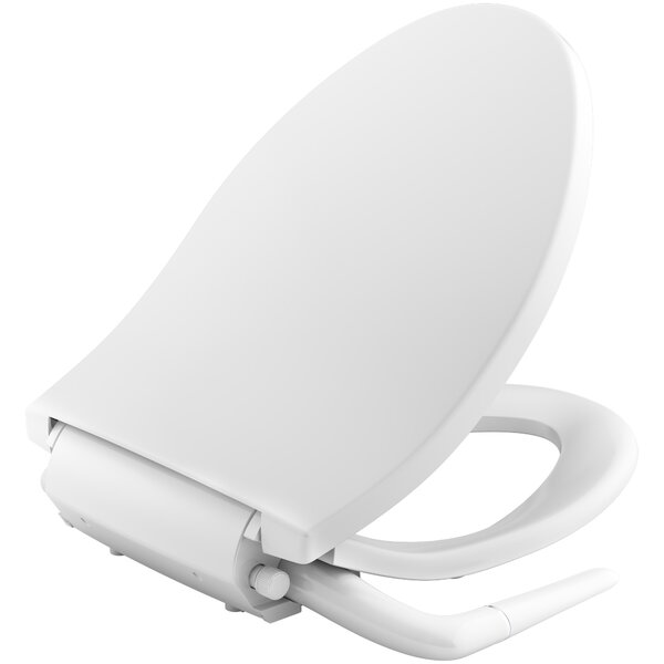Puretide Elongated Manual Bidet Seat by Kohler
