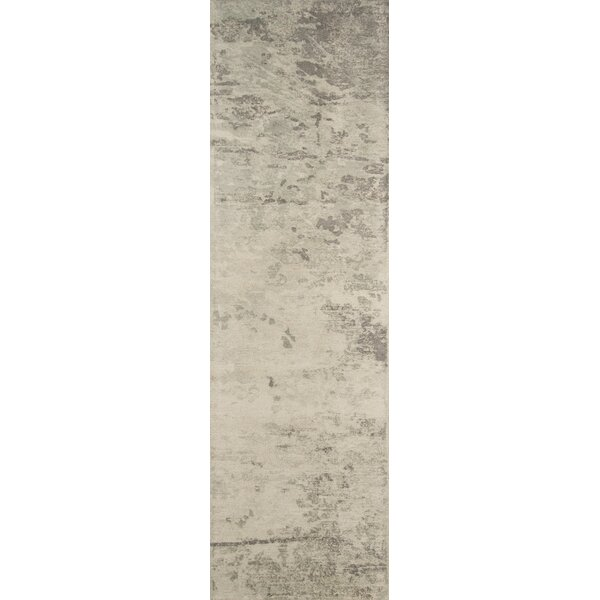 Stanford Abstract Hand-Tufted Green/Ivory Area Rug by Trent Austin Design