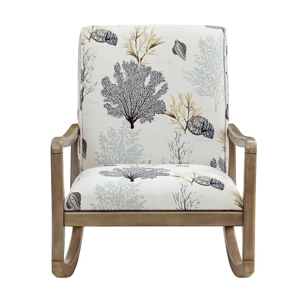 Duff Rocking Chair by Rosecliff Heights