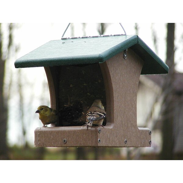 Recycled 1.5 Quart 2 Sided Hopper Bird Feeder by Birds Choice