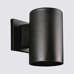 Shop For Casale Black Incandescent Plastic Cylinder 1-Light Outdoor Sconce By Ivy Bronx
