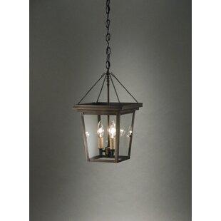 Best Williams 3-Light Outdoor Hanging Lantern By Northeast Lantern