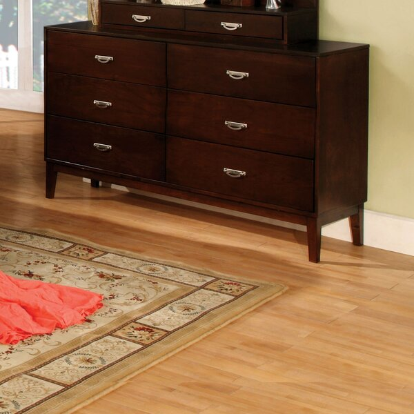 Bentonville 6 Drawer Double Dresser by Red Barrel Studio