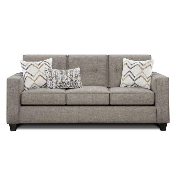 Avienda Slate Sofa by Wrought Studio