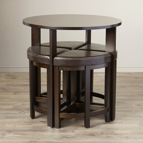 Earleville 5 Piece Dining Table Set by Latitude Run
