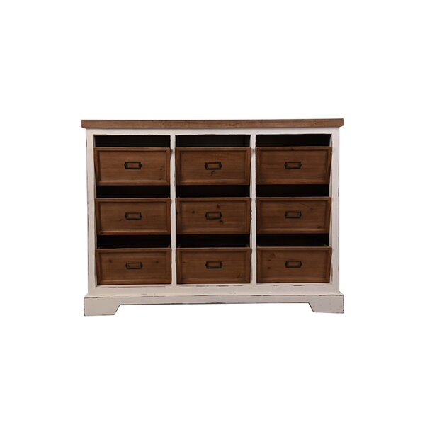 Tiara 9 Drawer Accent Chest by Breakwater Bay
