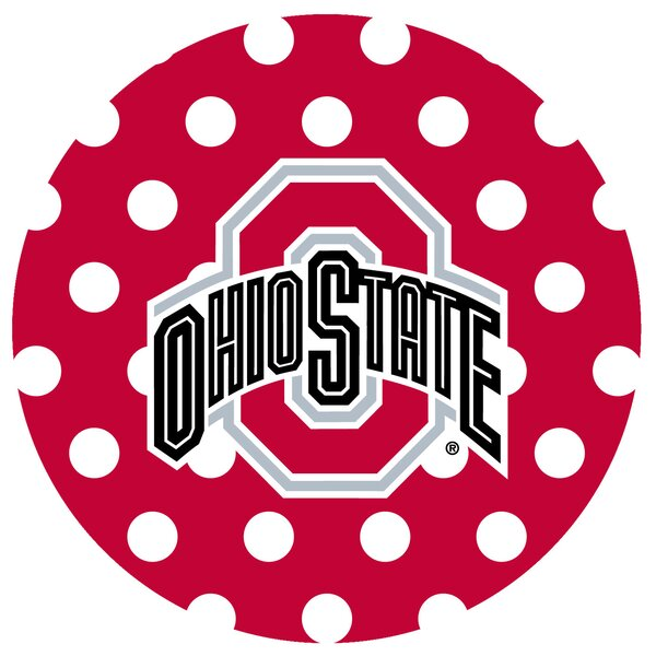 Ohio State University Dots Collegiate Coaster (Set of 4) by Thirstystone