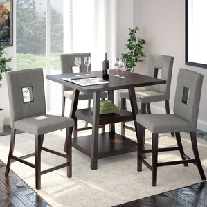 Countertop Dining Room Sets modern counter height dining room sets | allmodern