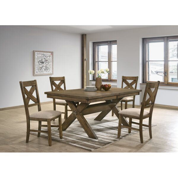 Poe 5 Piece Extendable Dining Set by Gracie Oaks