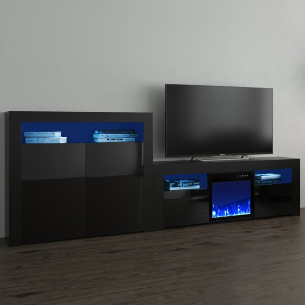 Price Sale Earle Entertainment Center For TVs Up To 65