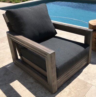 Yandell Teak Patio Chair with Cushion by Brayden Studio