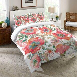 Kessinger Bohemian Poppies Comforter