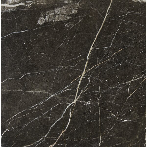 12'' x 12'' Marble Field Tile in Laurent Brown by MSI