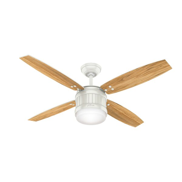 52 Seahaven 4 Blade Ceiling Fan with Remote by Hunter Fan