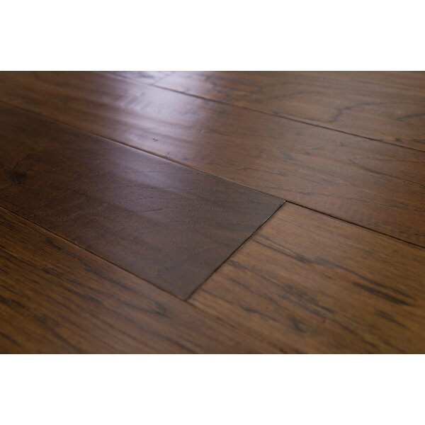 Paris 5 Engineered Hickory Hardwood Flooring in Carob by Branton Flooring Collection