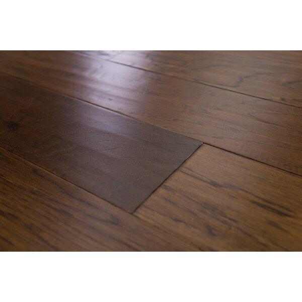 Paris 5 Engineered Hickory Hardwood Flooring in Carob by Branton Flooring Collection