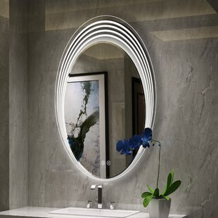 Great choice Bode Back Lit LED Daylight Bathroom Mirror By Orren Ellis