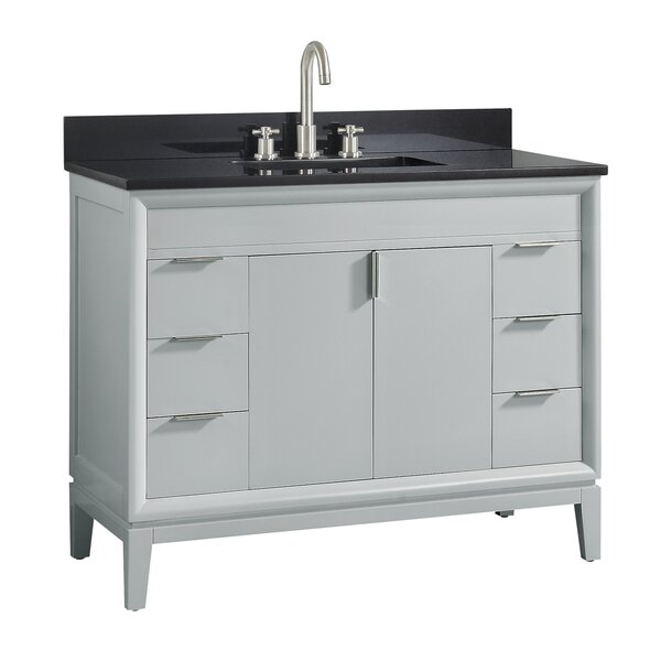 Schlesinger 43 Single Bathroom Vanity Set by Orren Ellis