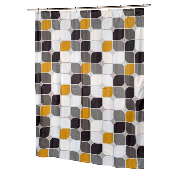 Metro Shower Curtain by Carnation Home Fashions