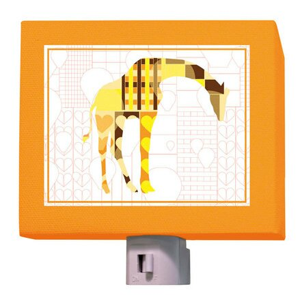 A to Z Animal Prints Giraffe Night Light by Oopsy Daisy