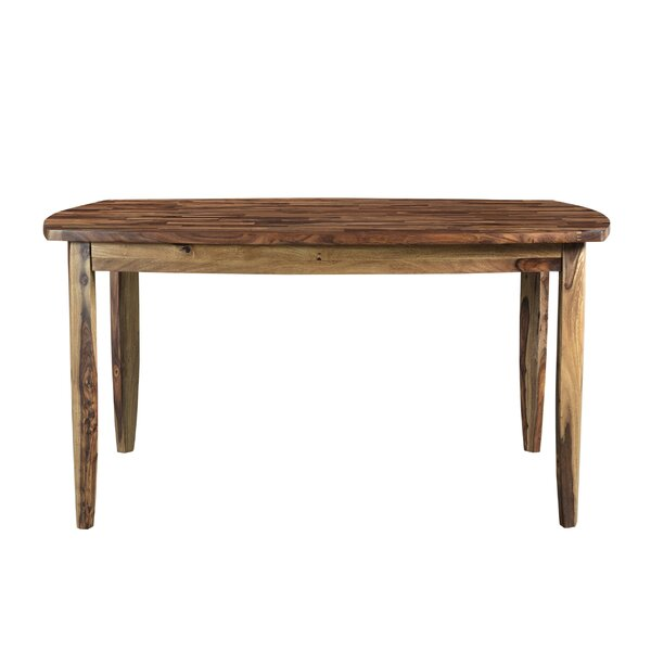 Remington Solid Wood Dining Table by Millwood Pines