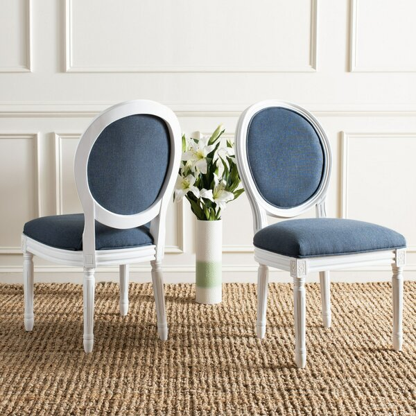 Anaya Upholstered Dining Chair (Set of 2) by Lark Manor