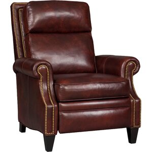 Afton Leather Manual Recliner by Bradington-Young