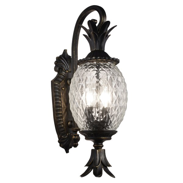 Tipton 2-Light Outdoor Sconce by Bay Isle Home