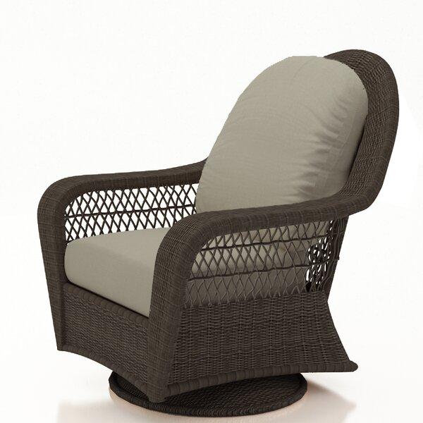 Fernly Swivel Patio Chair with Sunbrella Cushions by Red Barrel Studio Red Barrel Studio