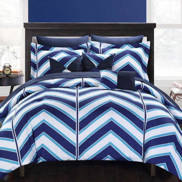 Surfer Reversible Comforter Set by Chic Home