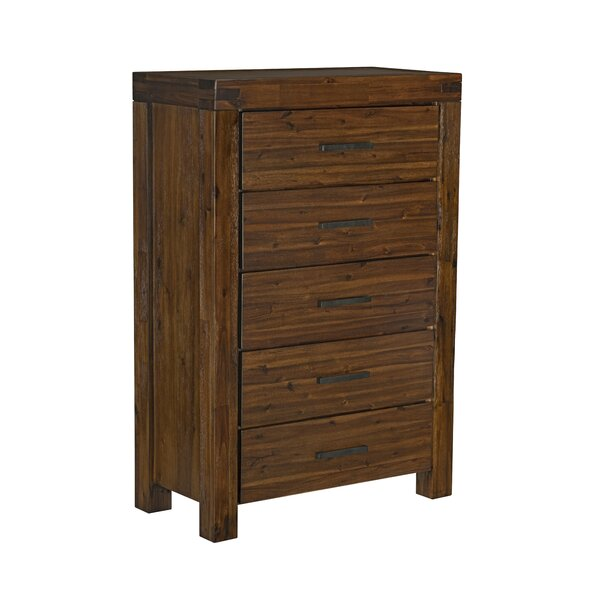 Lykins 5 Drawer Chest by Millwood Pines