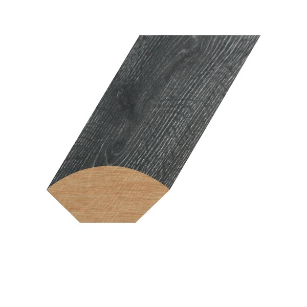 0.59 x 1.1 x 94.49 Oak Quarter Round in Smokey Gray by Concept One Accessories