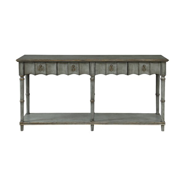 Caldervale 2 Drawer Console Table by Ophelia & Co.
