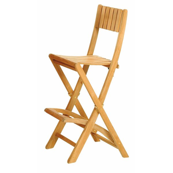 Teak Pergoletta Patio Bar Stool by Les Jardins