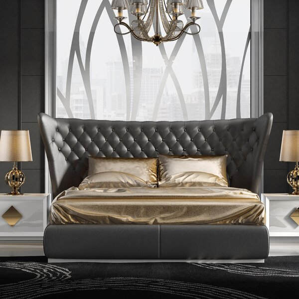 Knorr Upholstered Bed by Everly Quinn